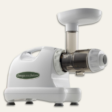ALL NEW Omega 8004 Nutrition Center Juicer- Excellent for juicing leafy greens and wheatgrass