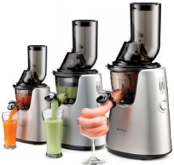 Kuvings Whole Slow Juicer Elite C7000 Silver : Kuvings Whole Slow Juicer Elite C7000 - upgraded Cold Press Juicer with 3