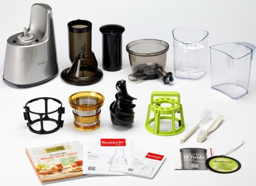 Slow Juicer Smoothie Recipe : Kuvings Whole Slow Juicer Elite C7000 - upgraded Cold Press Juicer with 3
