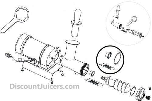 Samson Super Juicer Parts Diagram