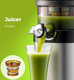 Kuvings Whole Slow Juicer Elite C7000 Silver : Kuvings Whole Slow Juicer CS600 - Commercial Cold Press Juicer with 3.5