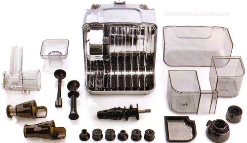 Omega Cube Juicer Parts