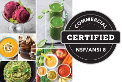 NSF Commercial Certified Blender for Commercial or Home Use
