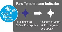 Raw Food Temperature Indicator