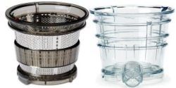 Includes Both Sorbet Strainer and Smoothie Strainer