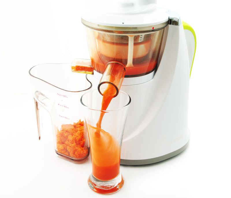 Slow Juicer Kontra Juicer : Hurom Slow Juicer- Single Auger Juicer aka Oscar Pro 930