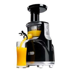 Kuvings Silent Juicer NS-850 Black Silver - vertical Single Auger Juicer