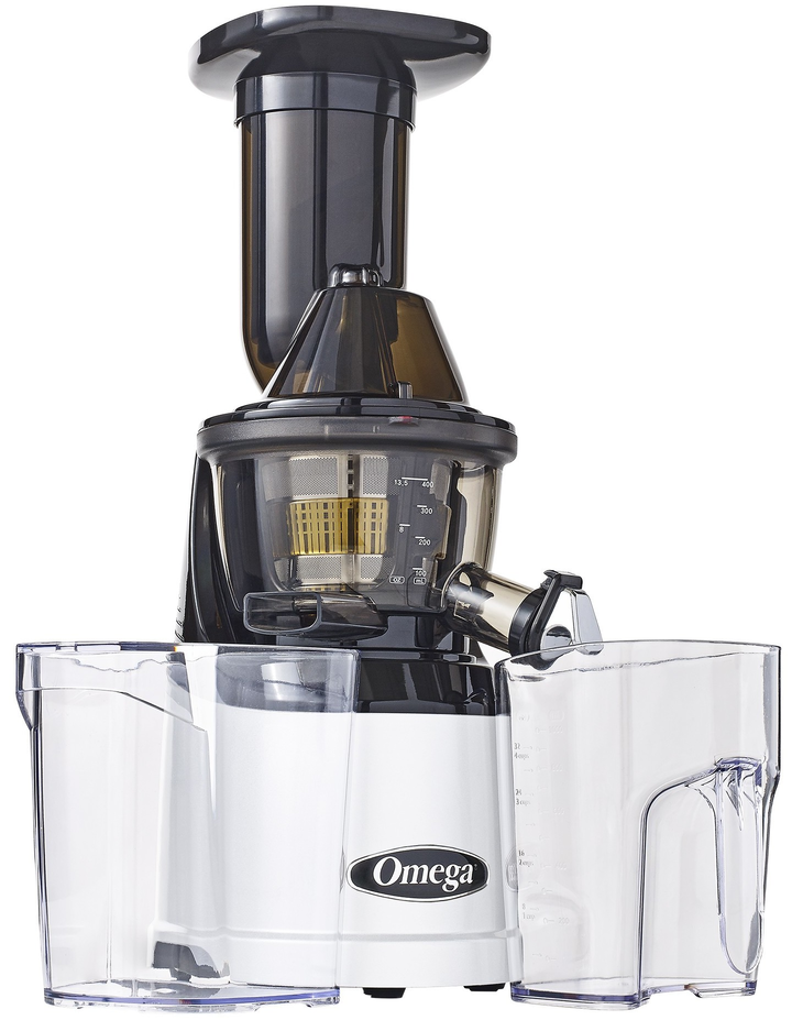 Omega Juicer Slow Juicer : Omega Mega Mouth Slow Juicer MMv700S- Cold Press Slow Juicer with 3