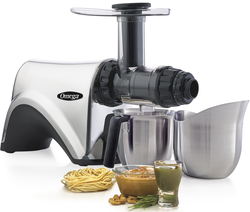 Omega NC900ss is more than just a juicer it can also make nut butters, extrude pasta and more!