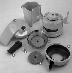 Omega 4000 - parts view