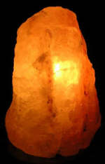 Salt Lamps Negative Reviews : Himalayan Salt Crystal Lamp - Negative Ion Generator - Two Sizes - SAVE USD USD USD Light