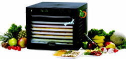 Sedona Dehydrator is BPA FREE and has a Glass Door