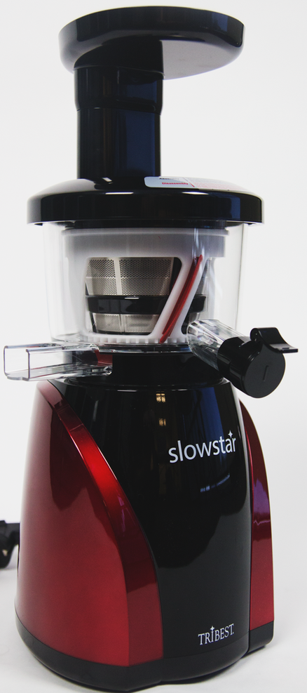 Slow Star Juicer Reviews : Tribest Slowstar SW-2000 47 RPM vertical Upright Single Auger Juicer