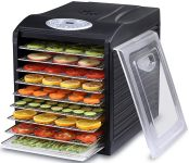 Samson Silent 9 Tray Dehydrator with Stainless Steel Trays