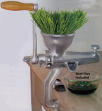 Economy Cast Iron - Tin Plated Wheatgrass Juicer