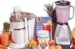 The Juicelady Juicer Package- includes blender, book and energy mix