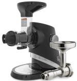 Sana 727 Black Juicer with Oil Attachment