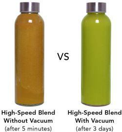 Vacuum Blending vs Non Vacuum Blending