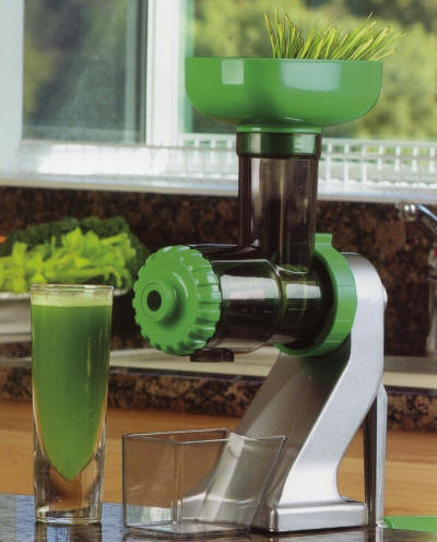 The Z Star ZStar Z-Star Manual Wheatgrass Wheat Grass juicer by